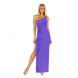 One shoulder form fitting dress