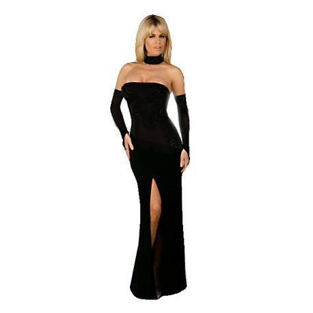 Long Formal Tube Gown